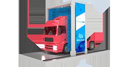 myjnia dla pojazdów ciężarowych